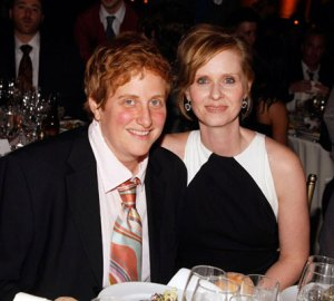Cynthia Nixon and Her Husband